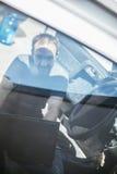 En servicio auto Foto de archivo libre de regalías