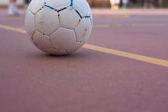 5 en sidofotbollslagutbildning Arkivbilder