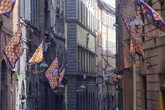 En Siena Foto de archivo libre de regalías