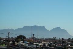 En sikt av Cape Town Royaltyfria Bilder