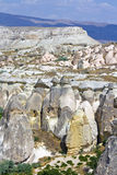 En sikt av cappadociaen Royaltyfria Foton