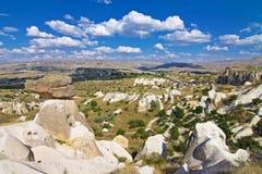 En sikt av cappadociaen Royaltyfri Bild