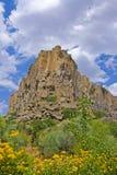 En sikt av cappaociaen Arkivbilder