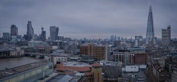 En sikt av centrala London Royaltyfri Fotografi