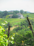 En sikt av den italienska bygden Royaltyfria Bilder