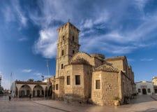 En sikt av helgonlasaruskyrkan. Arkivbilder