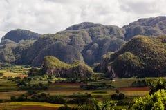 En sikt av landskapet Royaltyfria Foton
