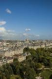 En sikt av Paris Royaltyfri Fotografi