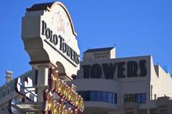 En sikt av Polo Towers av Diamond Resorts Royaltyfria Foton