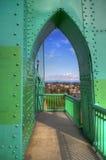 En sikt av St Johns den historiska bron Royaltyfri Foto