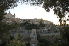 En sikt av Toledo, Spanien Royaltyfria Bilder