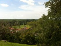 En sikt från Bukit Melawati Royaltyfri Foto