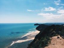 En sikt från den Kluang kullen Royaltyfri Foto
