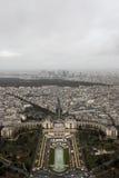 En sikt från Eiffeltorn Royaltyfri Fotografi