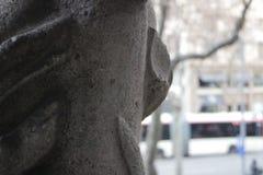 En sikt från ett fönster Royaltyfria Bilder