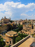 En sikt från Rome Arkivbild