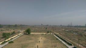 En sikt från torn Royaltyfri Bild