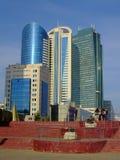 En sikt i Astana, Kasakhstan Royaltyfri Fotografi