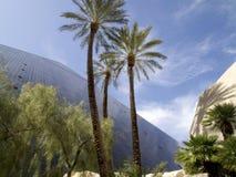 En sikt på den Luxor hotellkasinot i Las Vegas Arkivfoton