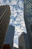 En sikt på skyskrapor Royaltyfri Foto
