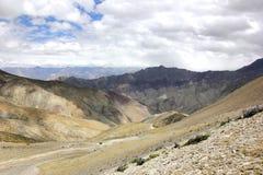 En sikt som är västra från Ganda-la passerande Royaltyfri Bild