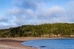 En sikt som fångas på stranden för jaspis` s fotografering för bildbyråer