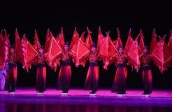 """En skådespelare som spelar en krigs- roll i kinesiska operor - dansa drama""""MeiLanfang† Royaltyfri Foto"""