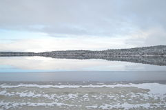 En skotsk vinterunderland Royaltyfria Bilder