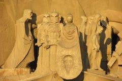 En skulptur royaltyfria bilder