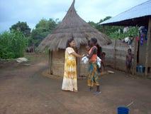 En skymt av hopp för Afrika Royaltyfria Bilder