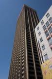 En skyskrapa i Johannesburg Arkivbilder