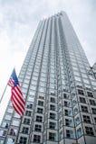 En skyskrapa i Miami royaltyfria foton