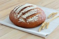 En släntra av nytt bröd Arkivfoto