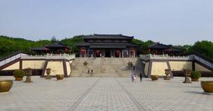En slott i den wuxi tre studion Arkivbild