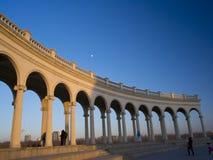 En slott i Peking Royaltyfria Bilder