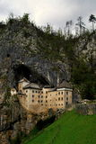 En slott i vaggar Royaltyfri Bild