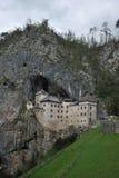 En slott i vaggar Royaltyfria Bilder