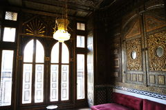 En slott som jag besökte Royaltyfri Bild