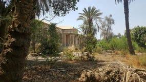 En slott som jag besökte på Egypten cairo Arkivfoton