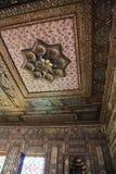 En slott som jag besökte på Egypten cairo Arkivfoto