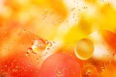 En slug färgrik bakgrund med bubblor royaltyfri foto