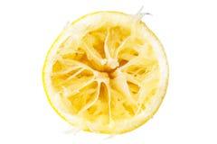 En smutsig citron Royaltyfri Bild