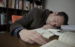 En sommeil Photos stock