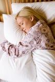 En sommeil Image libre de droits