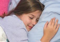 En sommeil sain Images libres de droits
