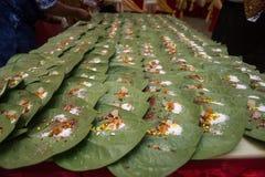 En sort av mat att dekorera Royaltyfri Fotografi