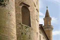 Ducal slott, Urbino Royaltyfri Bild