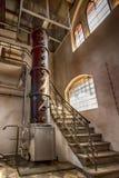 en spritfabrik från det sista århundradet arkivbild