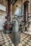 en spritfabrik från det sista århundradet fotografering för bildbyråer