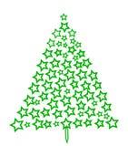 en spruce tree Royaltyfri Fotografi